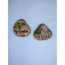 "1 1_2"" Miniature Fairy Garden Rocks Pkg_2"
