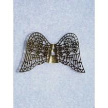 "|1 5_8"" Gold Filigree Angel Wings Pkg_2"