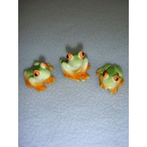"1"" Miniature Frogs"