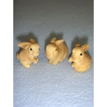 "1"" Miniature Rabbits"