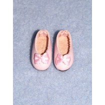 "1"" Pink Fancy Slip-On Shoes"