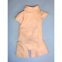 "20-24"" Pre-Sewn Suede Jointed Newborn Doll Body"