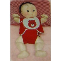 "20"" Bare Baby Cloth Doll Pattern"