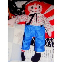 "|20"" George Doll Pattern"