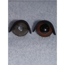 20mm Black Eyelids -pair Pkg_25