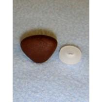 20mm Medium Brown Soft Triangle Noses - Pkg_25