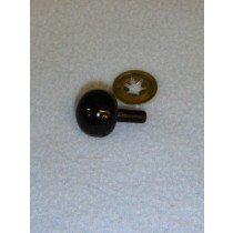 21mm Black Ball Noses - Pkg_50