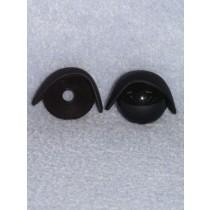 22mm Black Eyelids - Pkg_5 pr