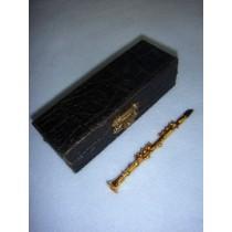 """ Instrument - Smaller Clarinet - 4"""" Brass"""