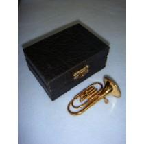 " Instrument - Smaller Baritone - 3"" Brass"
