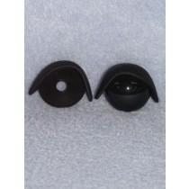 24mm Black Eyelids pair - Pkg_5