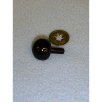 25mm Black Ball Noses - Pkg_50