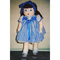 "26"" Beth Cloth Doll Pattern"