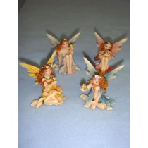 "2 1_4"" Sitting Fairy (Assorted)"