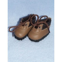 "2 1_8"" Brown Hiking Boots"