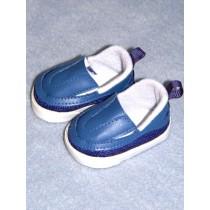 """Shoe - Sporty Clogs - 2 3_4"""" Blue"""