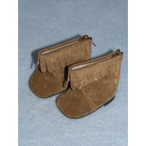 "2 3_4"" Brown Moccasin"