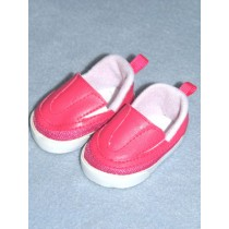 "Shoe - Sporty Clogs - 2 3_4"" Dark Pink"