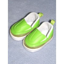 "Shoe - Sporty Clogs - 2 3_4"" Lime Green"