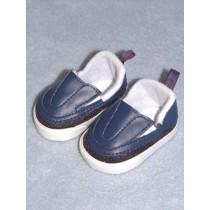 "Shoe - Sporty Clogs - 2 3_4"" Navy Blue"