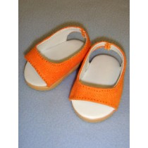 "2 3_4"" Orange Pretty Wedge"