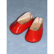 "2 3_4"" Patent Red Princess Shoe"