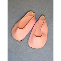 "2 3_4"" Pink Princess Shoes"