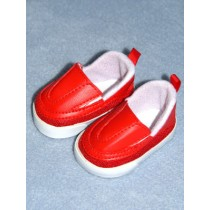 """2 3_4"""" Red Sporty Clogs"""