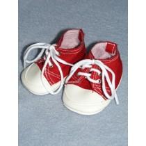 "2 3_4"" Red Tennis Shoe"