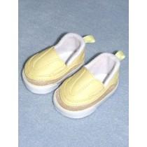 "Shoe - Sporty Clogs - 2 3_4"" Yellow"