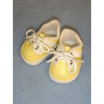 "2 3_4"" Yellow Sporty Shoes"