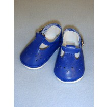 "2 7_8"" Baby Mary Janes - Dark Blue"