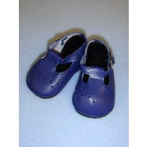 "2 7_8"" Baby Mary Janes - Navy Blue"