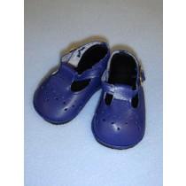 "2 7_8"" Baby Mary Janes - Navy Blue"