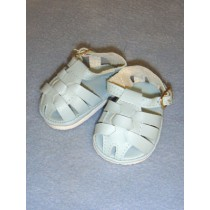 "2 7_8"" Light Blue Fisherman's Sandals"
