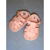 "2 7_8"" Pink Fisherman's Sandals"