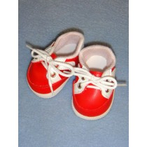 """2 7_8"""" Red Sporty Shoe"""