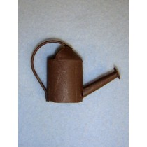 "2"" Miniature Rustic Watering Can"
