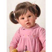 "30"" Micah Doll Kit w_Brown Eyes - Painted Transluscent"