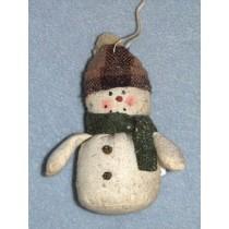 """3 1_2"""" Muslin Snowman"""
