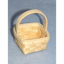 """3 1_2"""" Natural Woven Basket-Asst Styles"""