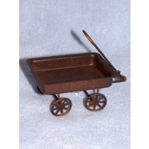 "3 1_4"" Rusty Tin Wagon"