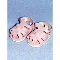 "3 1_8"" Pink Fisherman's Sandals"