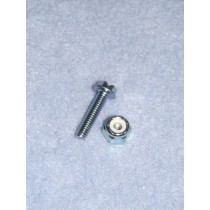 "3_4"" Locknut & Bolt - Pkg _5"