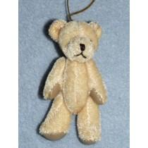 "|3"" Beige Plush Bear"