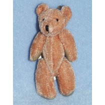 "3"" Brown Plush Bear"
