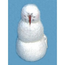 """3"""" Fleece Snowman"""