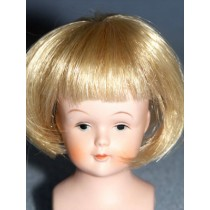 "|3"" Lt Blond Straight Wig w_Bangs"