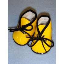 "3"" My Golly Boots - Yellow Patent"