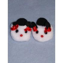"3"" Panda Slippers"